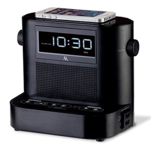 Hotel Clock Radio With Soundflow™ Wireless Audio